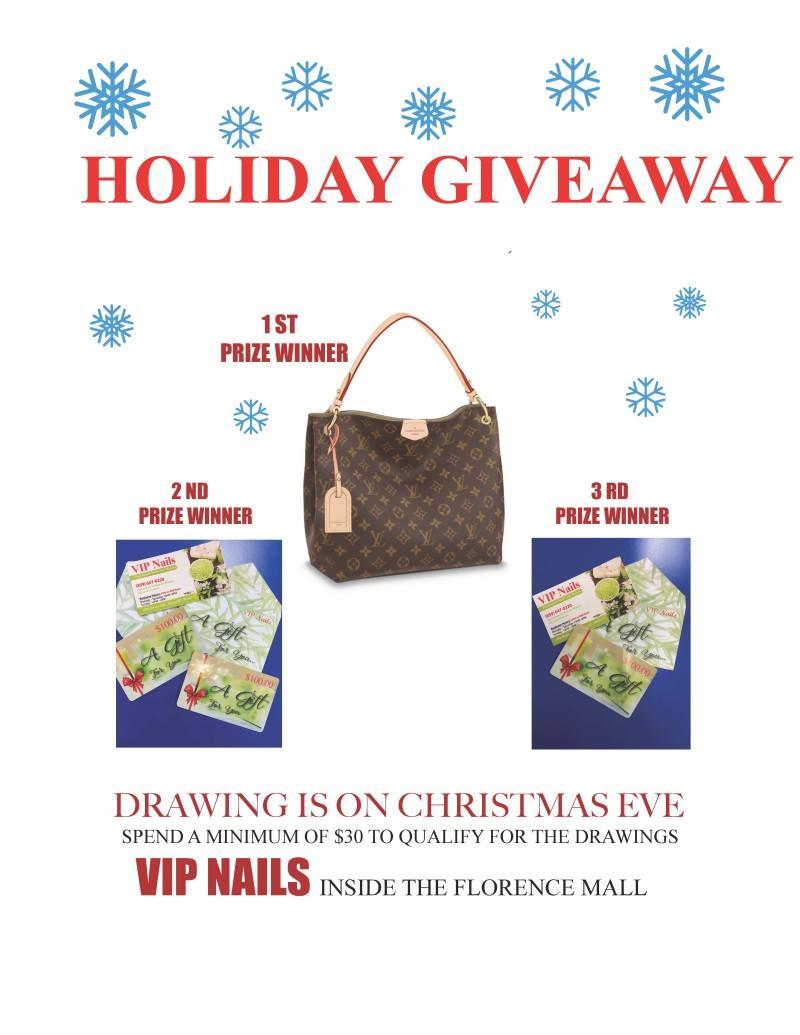 Holiday Give-A-Way from VIP Nails
