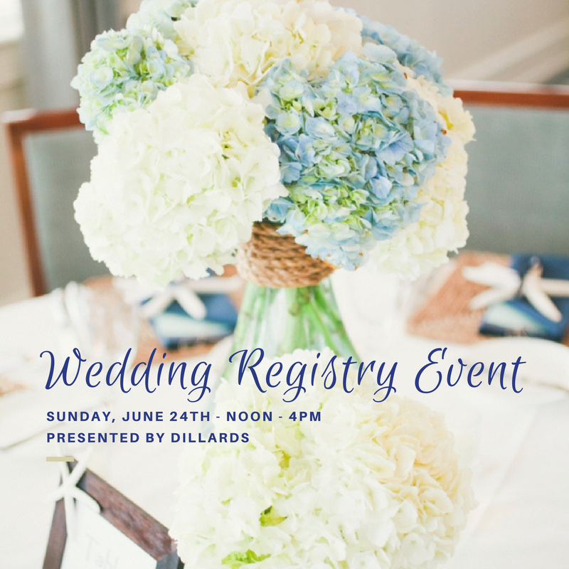 Wedding Registry Event Dillards