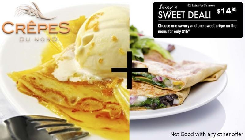 Sweet Deal from Crepes Du Nord