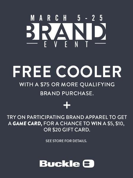 BRAND EVENT from Buckle