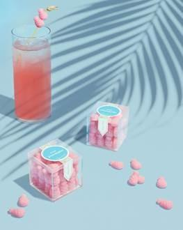 New Item!  Pink Pineapples Small Candy Cube®