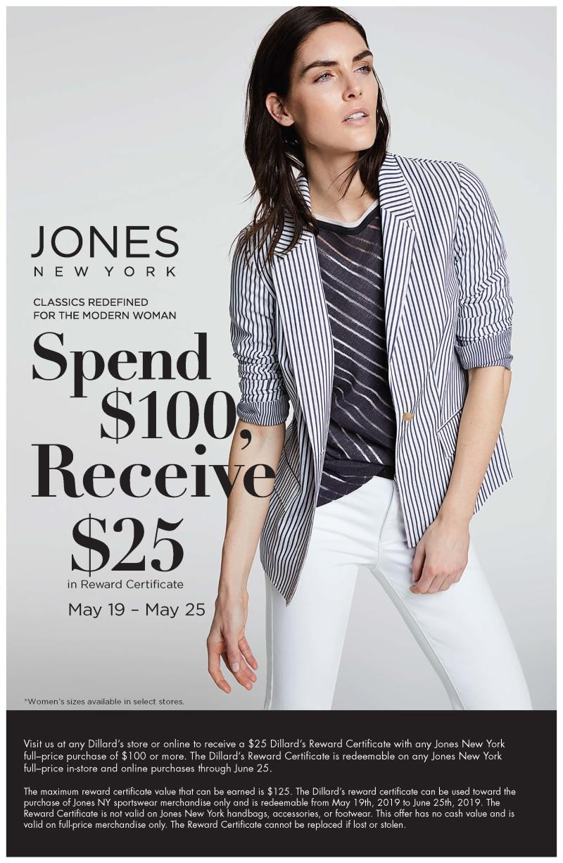 Special savings from Dillard's