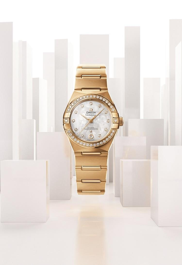 "The new Constellation ""Manhattan"" from OMEGA"