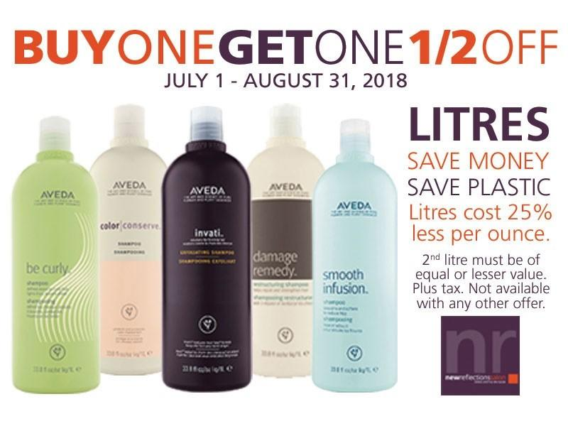 BUY 1 GET 1 HALF OFF! from Aveda New Reflections