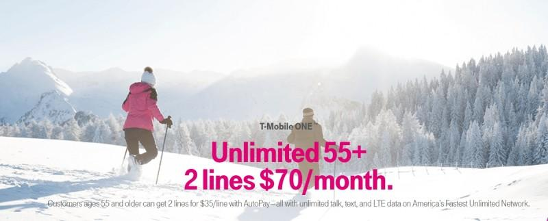 Unlimited 55+ from T-Mobile