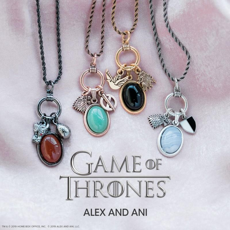 The GAME OF THRONES COLLECTION by ALEX AND ANI.