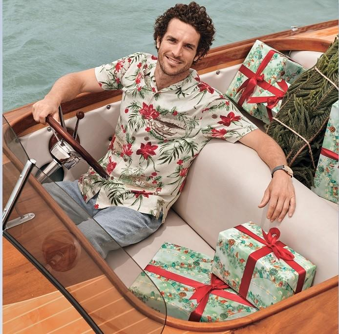 Tommy Bahama Holiday Flip Side from Tommy Bahama