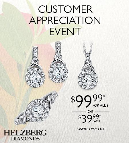 Spring Jewelry Sale from Helzberg Diamonds