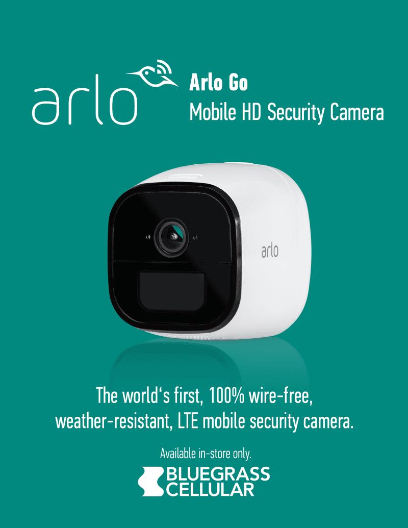 Introducing ArloGo HD Security Camera from Bluegrass Cellular