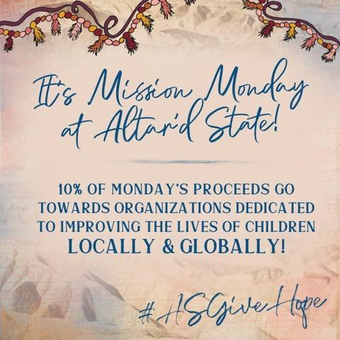 Mission Mondays! from Altar'd State