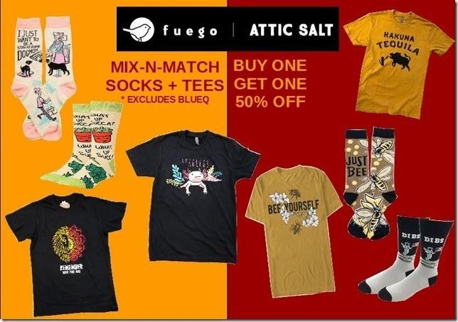 Mix & Match from Attic Salt