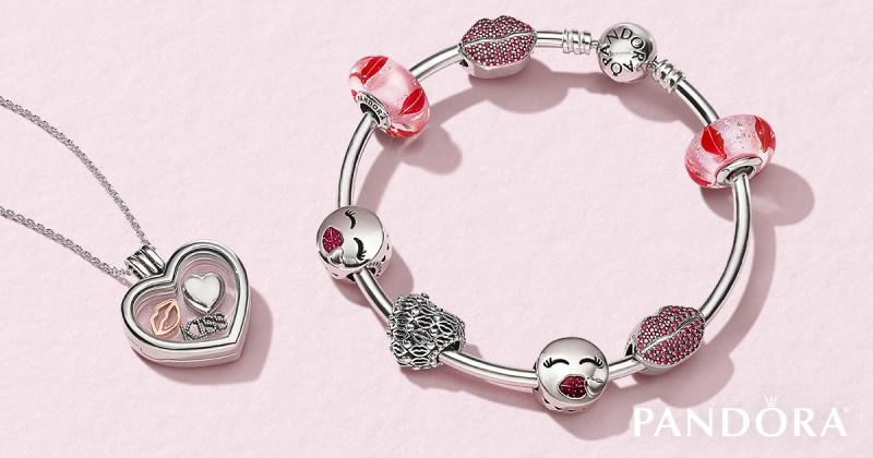 the new valentines day collection from pandora is here