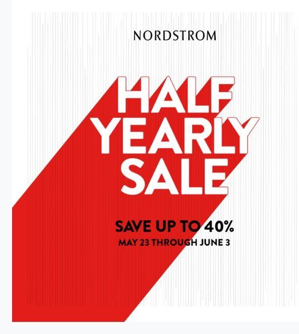 Save up to 40% on selected styles from Nordstrom