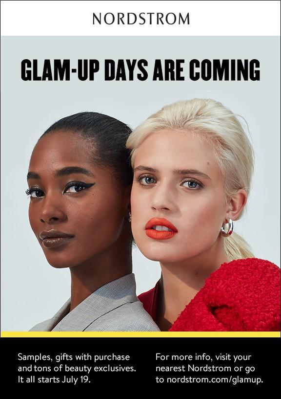 Anniversary Sale Glam Up Days from Nordstrom