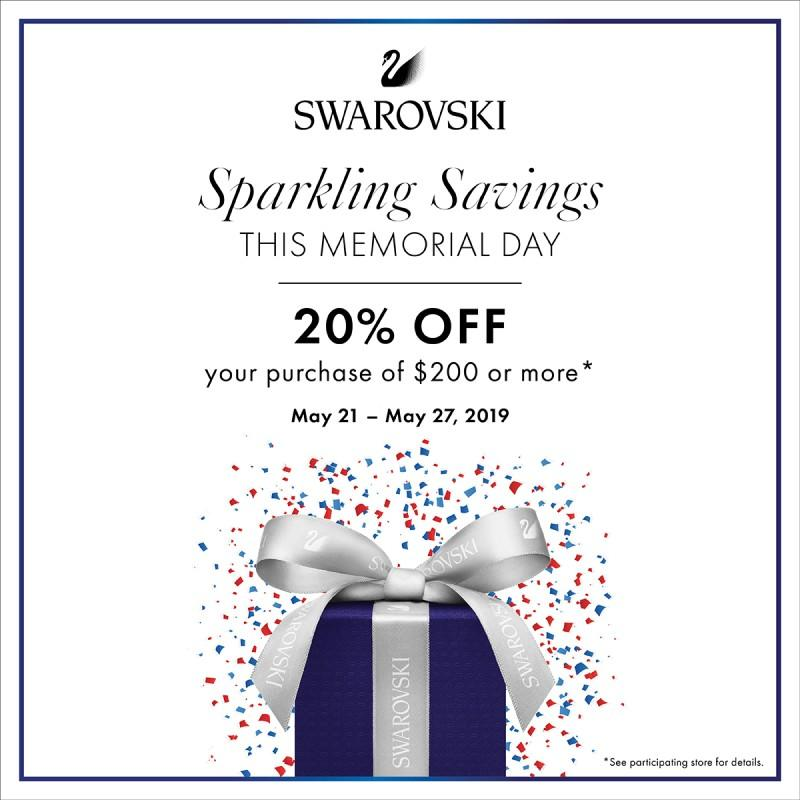 Memorial Day Sale from Swarovski