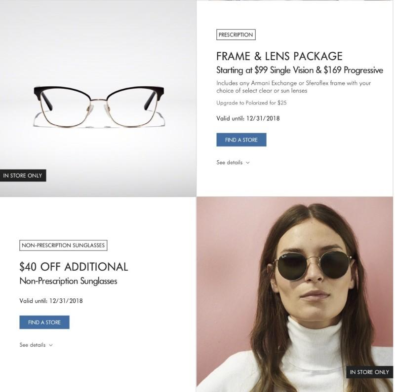 Frame and Lens Package at LensCrafters | Bridgewater Commons