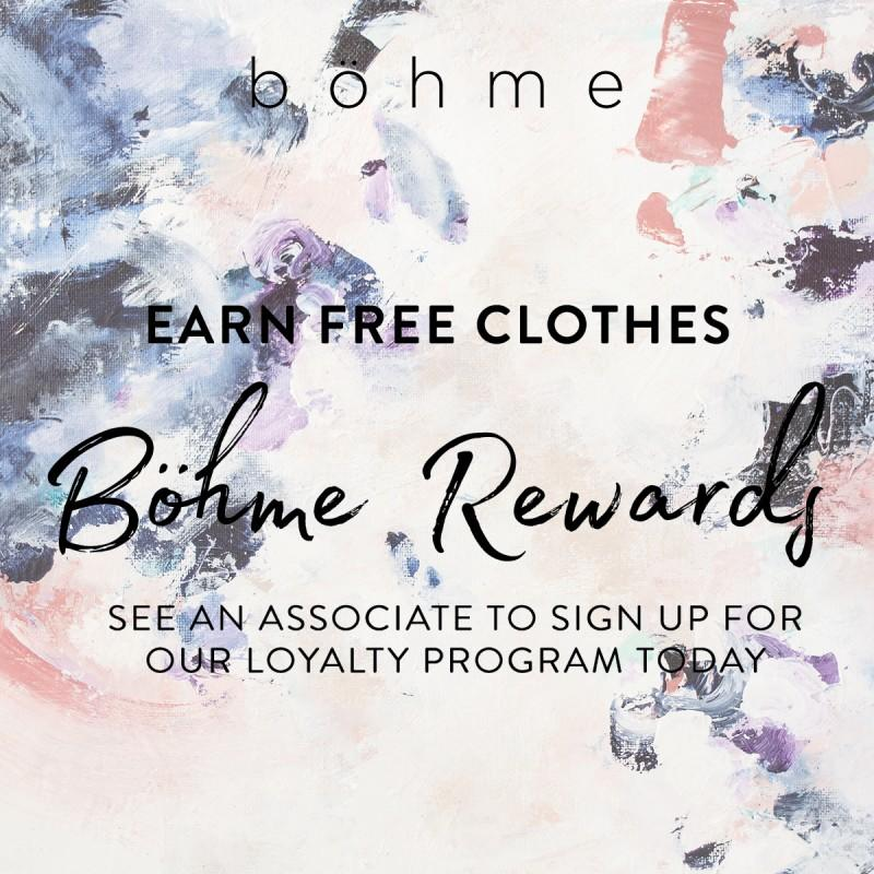 Earn Free Clothes from Bohme Boutique
