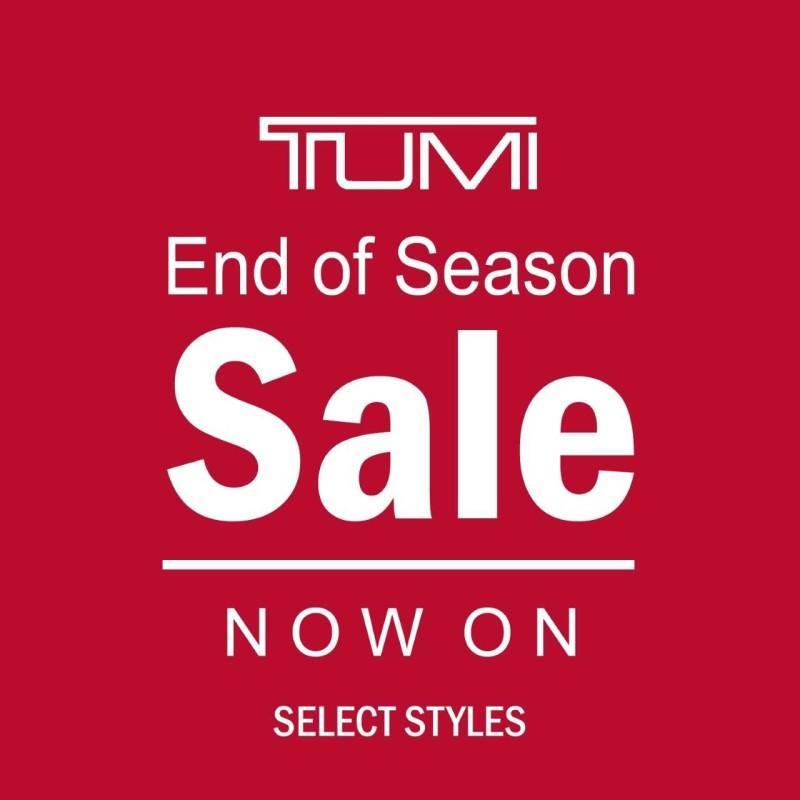 Tumi End of Season Sale from Colorado Baggage