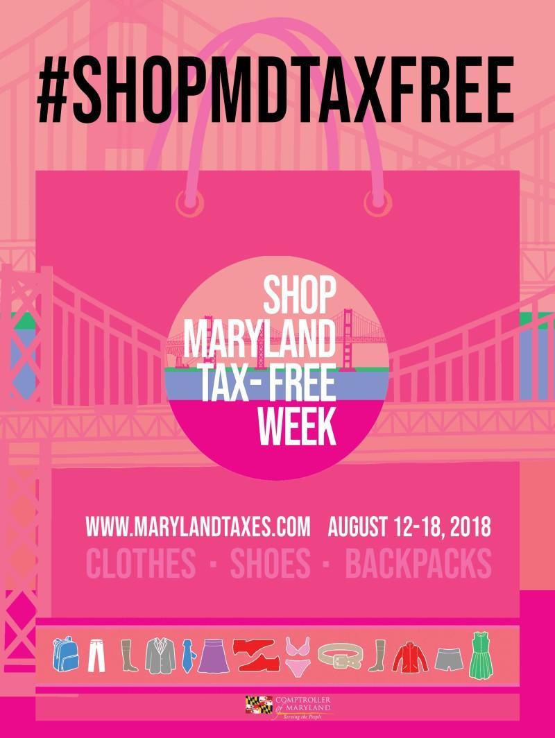 Maryland Tax-Free Week