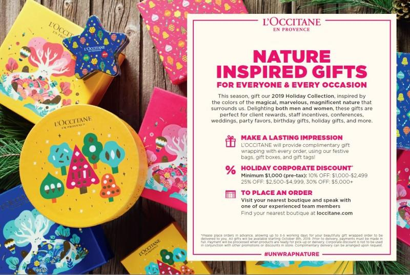Corporate Gifting from L'Occitane
