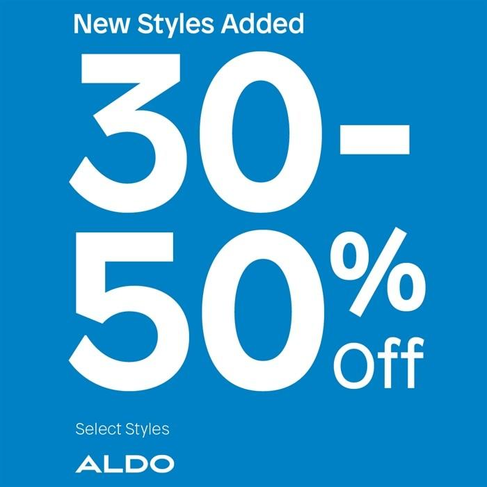 30-50 % off Sale Styles from ALDO Shoes