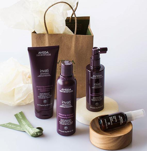 National Hair Loss Awareness Month from Aveda