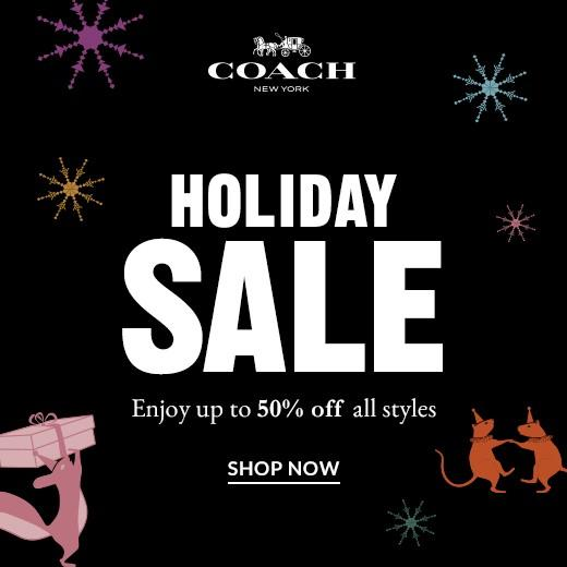 Ready, Set, Holiday! from Coach