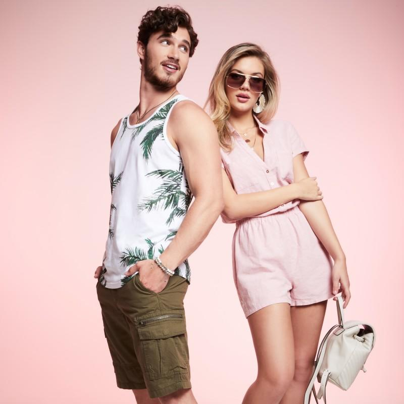 Tops & Shorts Buy One, Get One 50% Off from G By Guess
