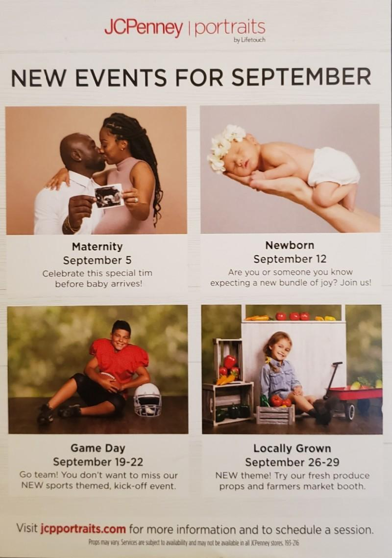 September Events from JCPenney