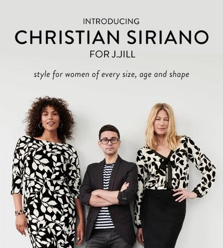 Introducing Christian Siriano for J. Jill from J.Jill