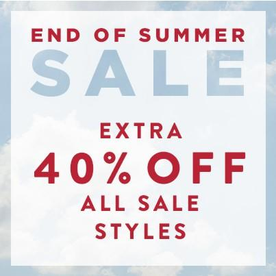 End of Summer Sale at J.Jill