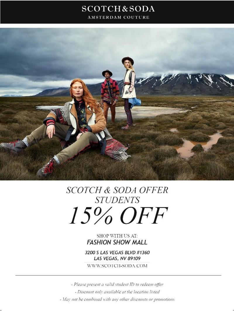 Student Savings from Scotch & Soda