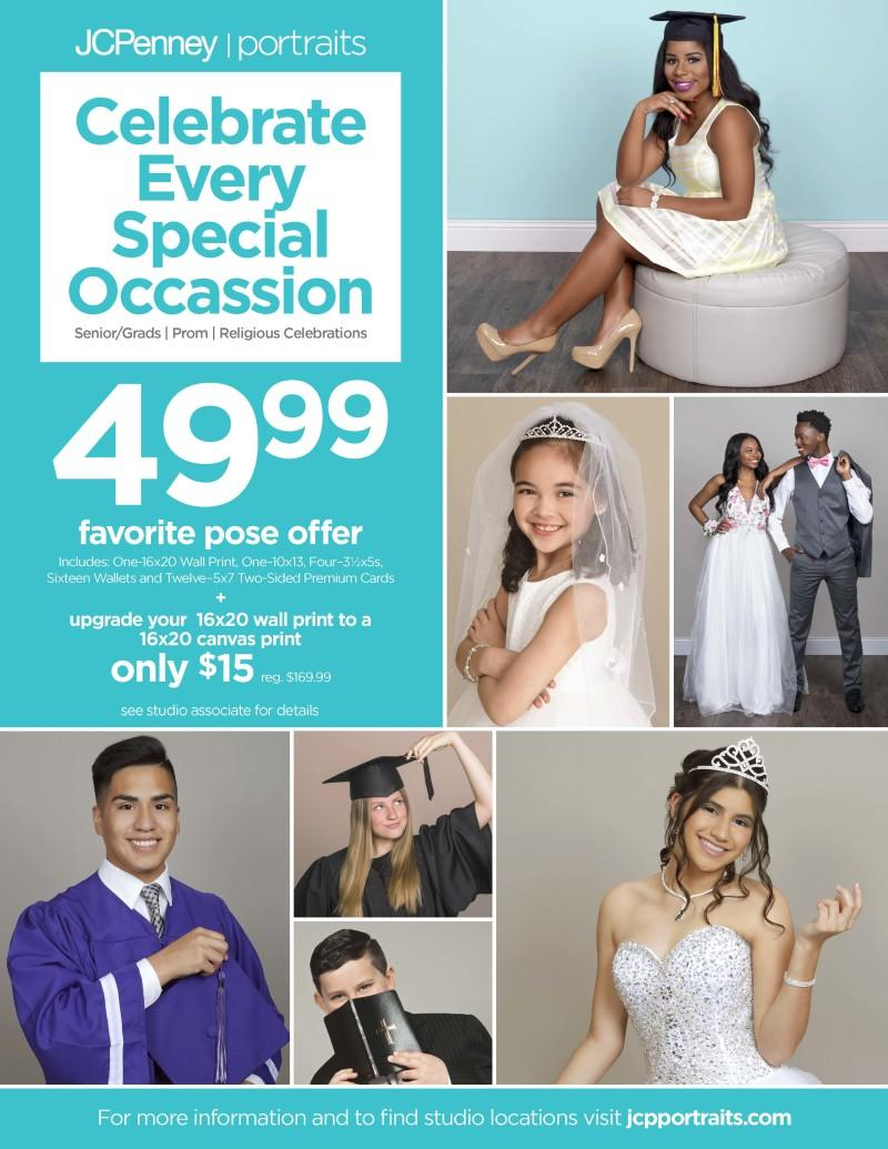 Portrait Studio Specials from JCPenney