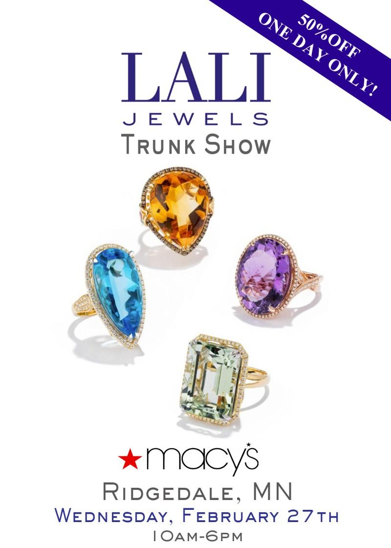 LALI Fine Jewelry Trunk Show from macy's