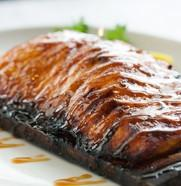 Wildfire Cedar Planked Salmon
