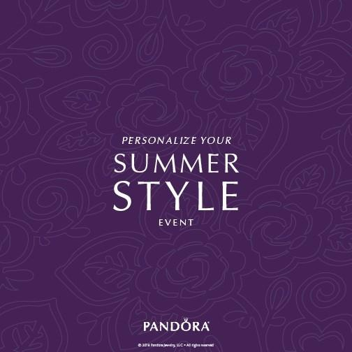 Personalize Your Summer Style Event from PANDORA