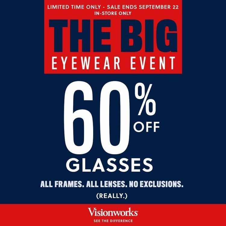 Visionworks' Big Eyewear Event