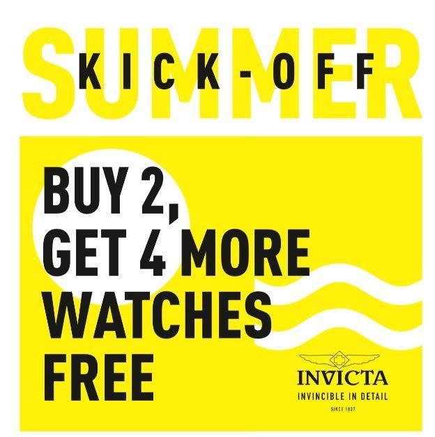 Summer Kick-OFF from Invicta