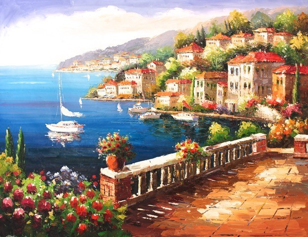 Coast Painting