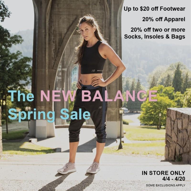 The New Balance Spring Sale