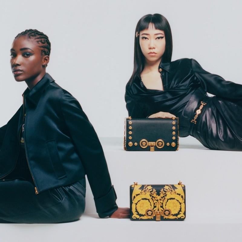 From the Spring Edit: The Versace Icon Bag from Versace