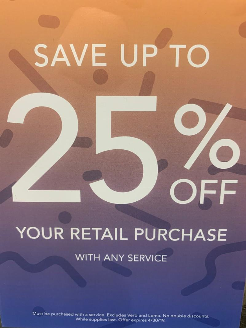 25% Off from MasterCuts