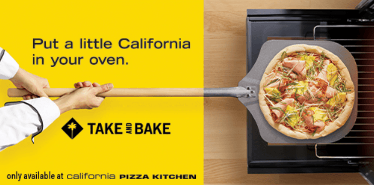 Put a little California in your oven from California Pizza Kitchen