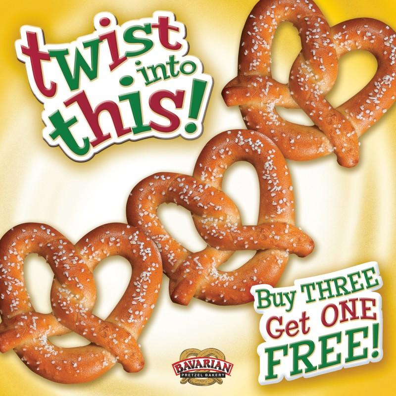Twist into This! from Bavarian Soft Pretzels