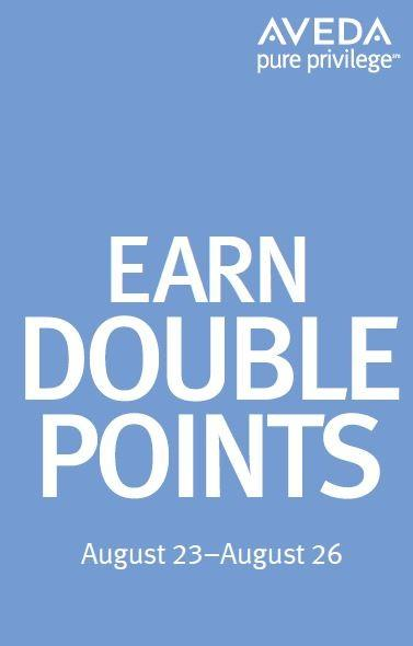 Double points from Aveda