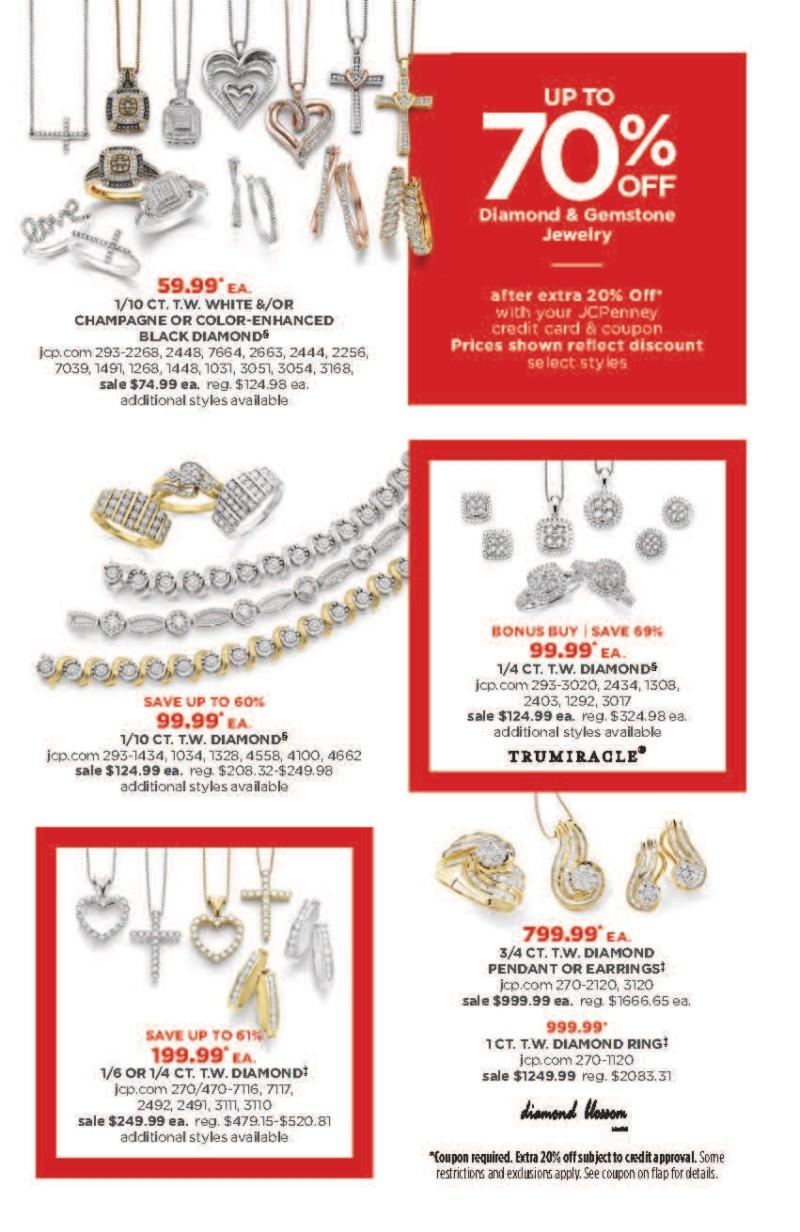 Diamond and Gemstone Sale from JCPenney