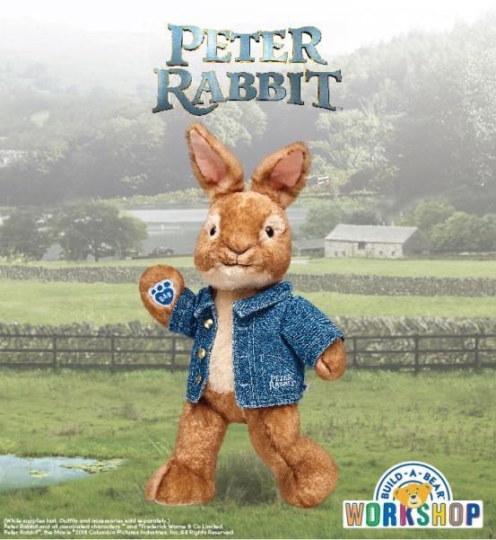 Peter Rabbit at Build-A-Bear Workshop