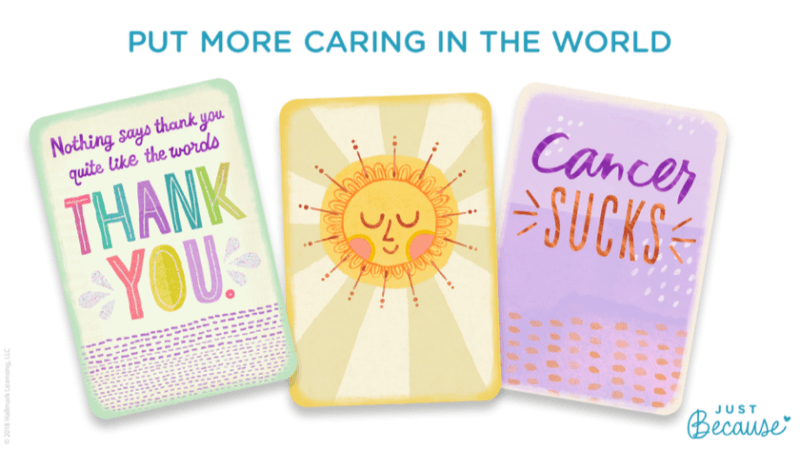 Get a FREE Just Because Card from Hallmark