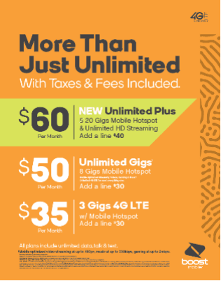 More Than Just Unlimited from Boost Mobile