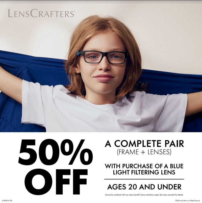 Back to School Special from LensCrafters